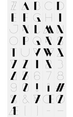 gregmelander:NEW MODERN: A great new typeface with thick and thin lines with beautiful curves by SAWDUST