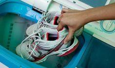 海外帰りには常識!?スニーカーを洗濯機で洗う人が急増中!の画像 | ギャザリー