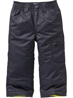 Zip-Pocket Snow Pants for Baby