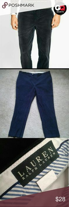 Men's Corduroy Pants RECENTLY REDUCED AUG 23RD!   Polo Ralph Lauren Corduroy Pants  Size 40  Missing Button on back left pocket. Polo by Ralph Lauren Pants Corduroy