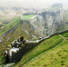 Tintagel Castle, Cornwall, UK - With a history stretching as far back as the Romans, Tintagel Castle is one of the most iconic visitor attractions in the south west.