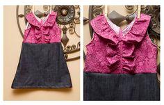 Girl's Dress Sewing PDF Pattern  The Big Girl Eden by Brynnberlee, $7.00