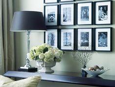 Ideen-Fotowand-bilderrahmen-lampe-wohnzimmer-gestaltung