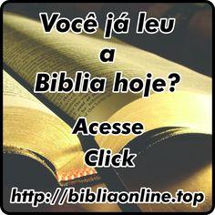 voce-ja-leu-a-biblia-hoje
