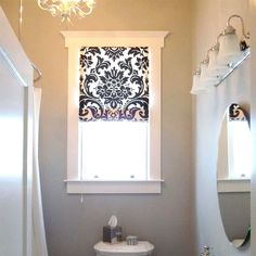 100+ Small Bathroom Window Valances - Neutral Interior Paint Colors Check more at http://www.freshtalknetwork.com/small-bathroom-window-valances/