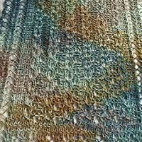 Knitting: Reversible Lace Cables Scarf