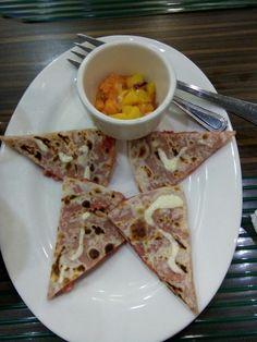Sweet Meat Quezadilla, love it! 😊 #tasty #creamy #yummy 🍕