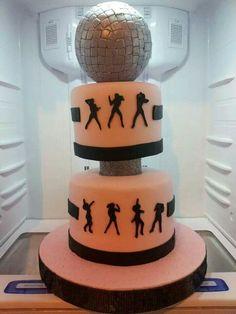 Torta discoteca