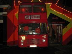 The Big Red Pizza Bus   30 Deptford Church Street, Deptford, 100 m north of Deptford Bridge DLR