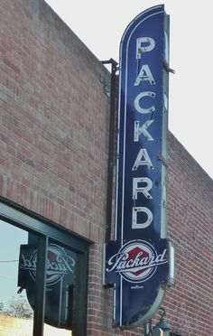 Packard Sign | Lodi, CA