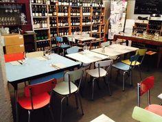 lot de chaises formica pour bar et restaurant