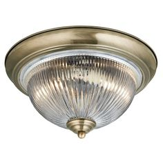 4370 Round Flush Ceiling Light