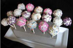 How To: cake Pops