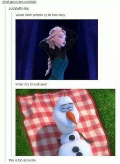 More frozen humor.