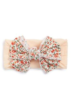 Baby+Bling+Jersey+Bow+Headband+(Baby+Girls)+available+at+#Nordstrom