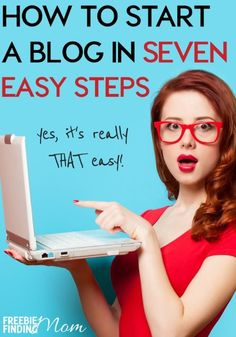 How and Where to Start a Blog and Get Making Money From Home!