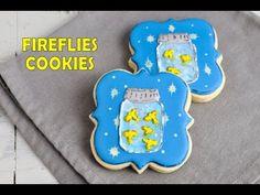 FIREFLIES / LIGHTNING BUGS COOKIE TUTORIAL by HANIELA'S