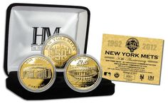 AAA Sports Memorabilia LLC - New York Mets 50th Anniversary Commemorative 3-Coin Gold Set, $99.95 (http://www.aaasportsmemorabilia.com/mlb/new-york-mets/new-york-mets-50th-anniversary-commemorative-3-coin-gold-set/)