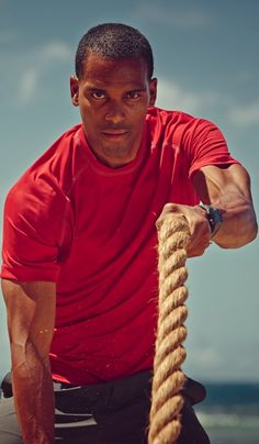 When you commit to working out you see results. #EddieBauer