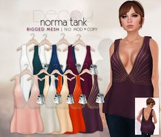 Decoy Norma Tank - Demo available - 9 recolors - 188L each