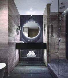 Bathroom of Guestroom in the Hilton London Bankside, London, England