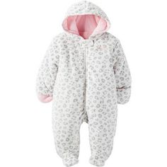 a759950d82d6 Child of Mine by Carters Baby Pram Faux Fur Boy and Girls Sizes (3-6 ...