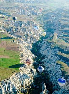 Cappadocia, Turkey. Hot Air Balloons. To Do.