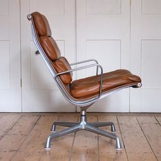 Eames Softpad lounge chair, 1969, Herman Miller.