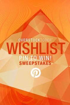 Enter to win $5,000 toward your Overstock wish list!