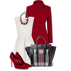 A fashion look from November 2013 featuring Kaliko coats, Gianvito Rossi pumps and White House Black Market necklaces. Browse and shop related looks.