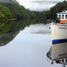 Arcadia 11 on the Pieman River on West Coast Tasmania