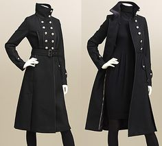 Burberry, e.g Coats Heaven Burberry undoubtfully is a fashion brand with a controversial history, but there is no doubt in their military coat design history! Their new arrivals are here, and no matter that Burberry are maki… Anime Outfits, Mode Outfits, Online Fashion, Style Lolita, Kleidung Design, Mode Vintage, Character Outfits, Coat Dress, Costume Design