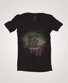 Instagrafite - Splash! T-shirt $25