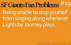 SF Giants Fan Problems