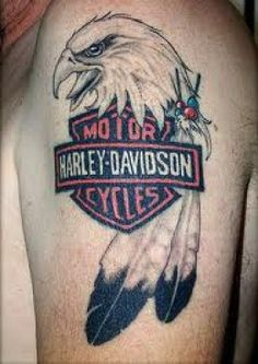 Harley Davidson Tattoos And History-Harley Davidson Tattoo Designs, Ideas, And Meanings