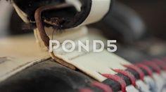 Close Up Muay Thai Boxing Training Kicking Pad Hand Held - Stock Footage | by RyanJonesFilms