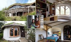 Jasmine and Simon Dale who feature in this week's Grand Designs have built a three-bed eco-home in Pembrokshire for just £27,000, using reclaimed materials and purchases from eBay.