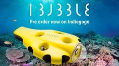 iBubble - die Drohne für Taucher