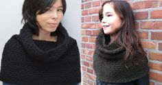 haakpatroon Comfy cowl / crochet pattern Comfy cowl Crochet Winter, Knit Or Crochet, Chrochet, Crochet Scarves, Crochet Clothes, Crochet Ideas, Crochet Projects, Crochet Patterns, Arts And Crafts