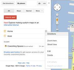 Google Maps: 10 Handy Tricks You Should Know  http://mashable.com/2012/08/16/google-maps-tips/#