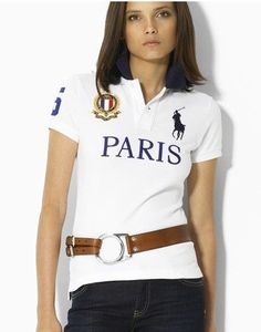40fa4834692407 Custom-Fit Big Pony Polo de Paris Ville Ralph Luaren