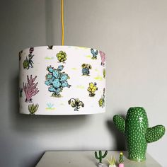 So so excited! Mine and @lovefrankiedotcom's collaboration lampshades are up for sale in the Love Frankie shop www.lovefrankie.com #lamp #lampshade #lovefrankiedotcom #Cacti #cactus #craftsposure @craftsposure #handmade #interior #Kidsroom #kidsdesign