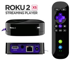 Roku 2 XS streaming player. Plug into TV then connect to internet and watch Netflix, hulu plus, Pandora radio and other entertainment!