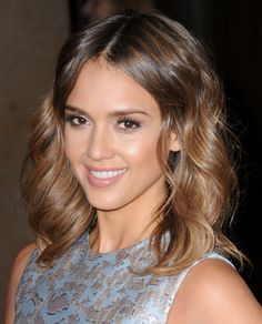 one length haircut below the shoulder - Google Search