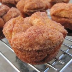 Monkey Bread Muffins - Yummy, quick & inexpensive! Perfect for a lazy Sunday morning breakfast or a sweet midnight snack.