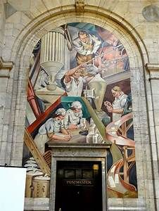 mural in post office - - Yahoo Image Search Results