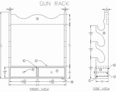 Gun vise plans gun vise plan gun vise pinterest guns and how to build a wooden gun rack free woodworking plans at lees wood projects malvernweather Gallery