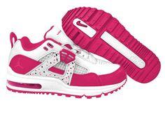 Kids-Nike-Air-Jordan-Four-Shoes-Rose-White