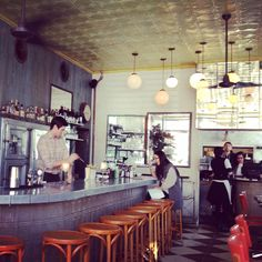 An amazing space and place! Cafe Colette, Williamsburg, Brooklyn, NYC