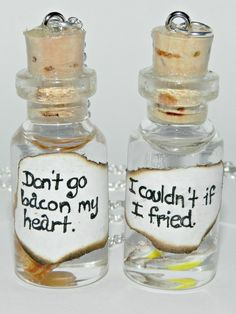 Don't Go Bacon My Heart, BFF Necklace Set